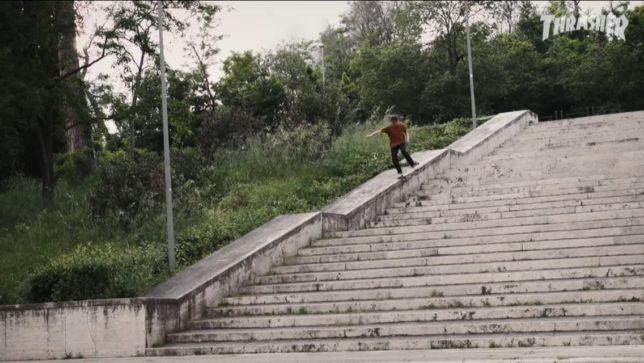 Habitat Skateboards in Milano Thrasher Magazine