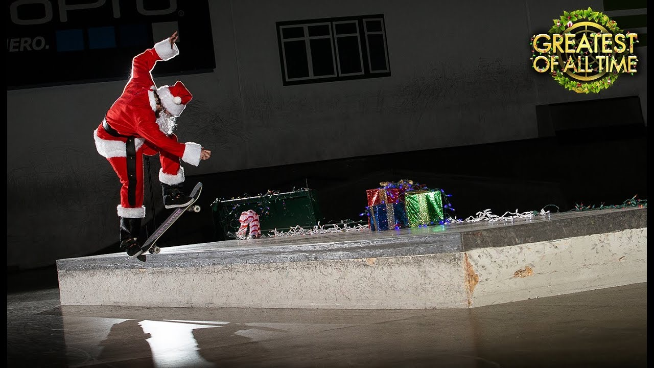 Source The Berrics Santa Torey Pudwill at The Berrics